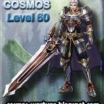 COSMOS Knight becomes LEVEL 60 - Wartune Achievement
