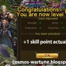 COSMOS becomes Level 62 + Gets New Clothing from Egg Event