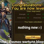 COSMOS becomes level 63 and gets 40,000+ BR