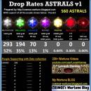 ASTRALS Drop Rates v1