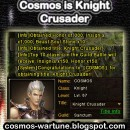 Cosmos is Knight Crusader
