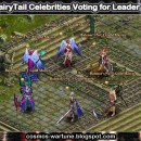 FairyTail Celebrities Voting for Leader
