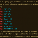 Friendliness or Friendship in Wartune