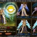 COSMOS Reaches Solo Arena Rank 3
