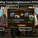 Upgrading Troop Enlightenment PATK 5 to 6