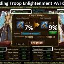 Upgrading Troop Enlightenment PATK 5 to 6