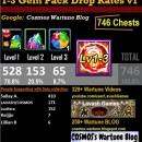 1-3 Gem Pack Drop Rates v1