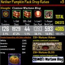 Nether Pumpkin Pack Drop Rates