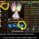 Sylph Level 55 Skill Buff