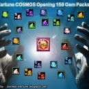 ART: Wartune COSMOS Opening 158 Gem Packs!
