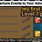 Use Wartune Events to Your Advantage