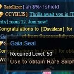 Proof that Blue Sylphs Drop