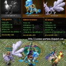 Mounts: Chicken, Blue Dragon, Fox