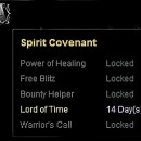 Choose Lord of Time inside the Spirit Covenant