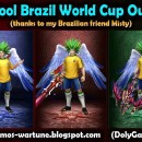 A Cool Brazil World Cup Outfit