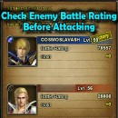 Check Enemy Battle Rating when Plundering