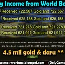 Big Income from World Boss