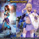 Dressed up like Wartune (Cosplay)