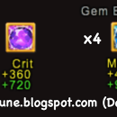 Upgrading to Level 9 Gems
