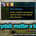 Defend Sylph Atoll Boss Event Formulas and Effects