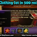 Full Clothing Set in 500 recharge