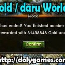 30+ million gold / daru World Boss income