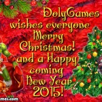 Merry Christmas and a Happy Coming New Year 2015
