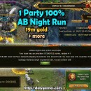 Atoll Boss Night Run 1 party 100%