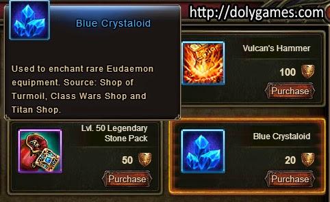Blue Cyrsytaloid