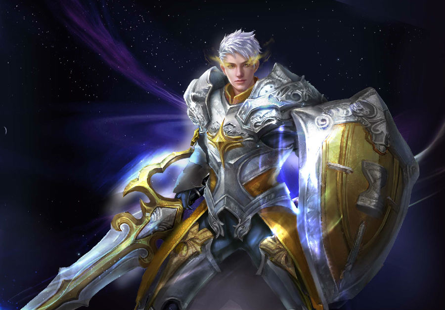 Male Knight Eudeamon Wartune Wallpaper