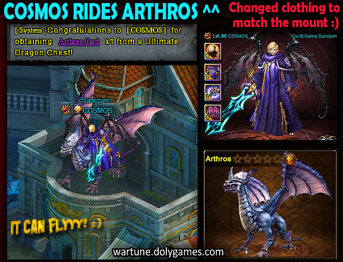 Cosmos on Arthros Mount