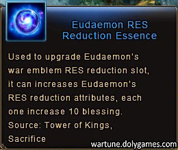 Eudaemon RES Reduction Essence