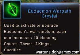 Eudaemon Warpath Crystal