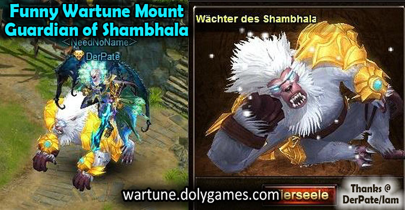 Guardian of Shambhala Wartune mount