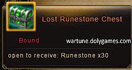 Jewel Hunt Lost Runestone Chest