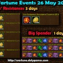 Wartune Events 26 May 2015