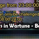 Working Hours in Wartune – Booo!