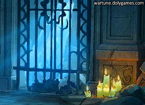 Catacombs Candles - where is it game Wartune zoom in