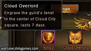 Cross Server Guild Battle 3 Cloud Overlord