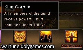 Cross Server Guild Battle 3 King Corona