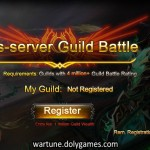 Cross Server Guild Battle 3 registrations open