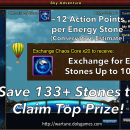 Save Energy Stones to Claim Top Sky Adventure Prizes
