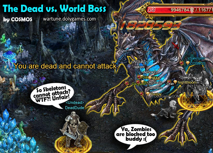 The Dead vs. World Boss