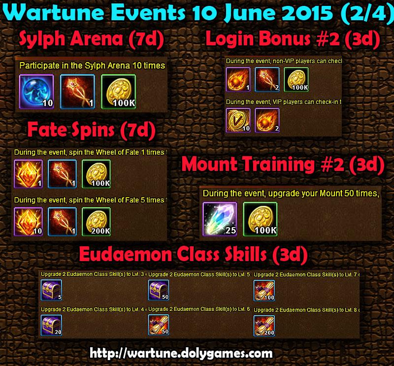 Wartune Events 10 June 2015 - Part 2