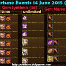 Wartune Events 14 June 2015