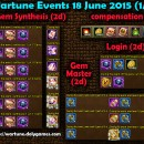 Wartune Events 18 June 2015