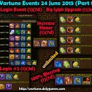 Wartune Events 24 June 2015 (3 Parts)