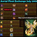Aerial Fleet Exchange July 2015