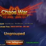 Chaos War window