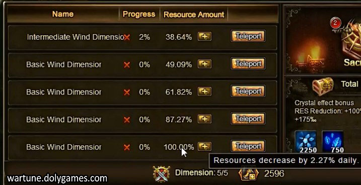 Dimension Tips and Calculations Post-Patch 4,5